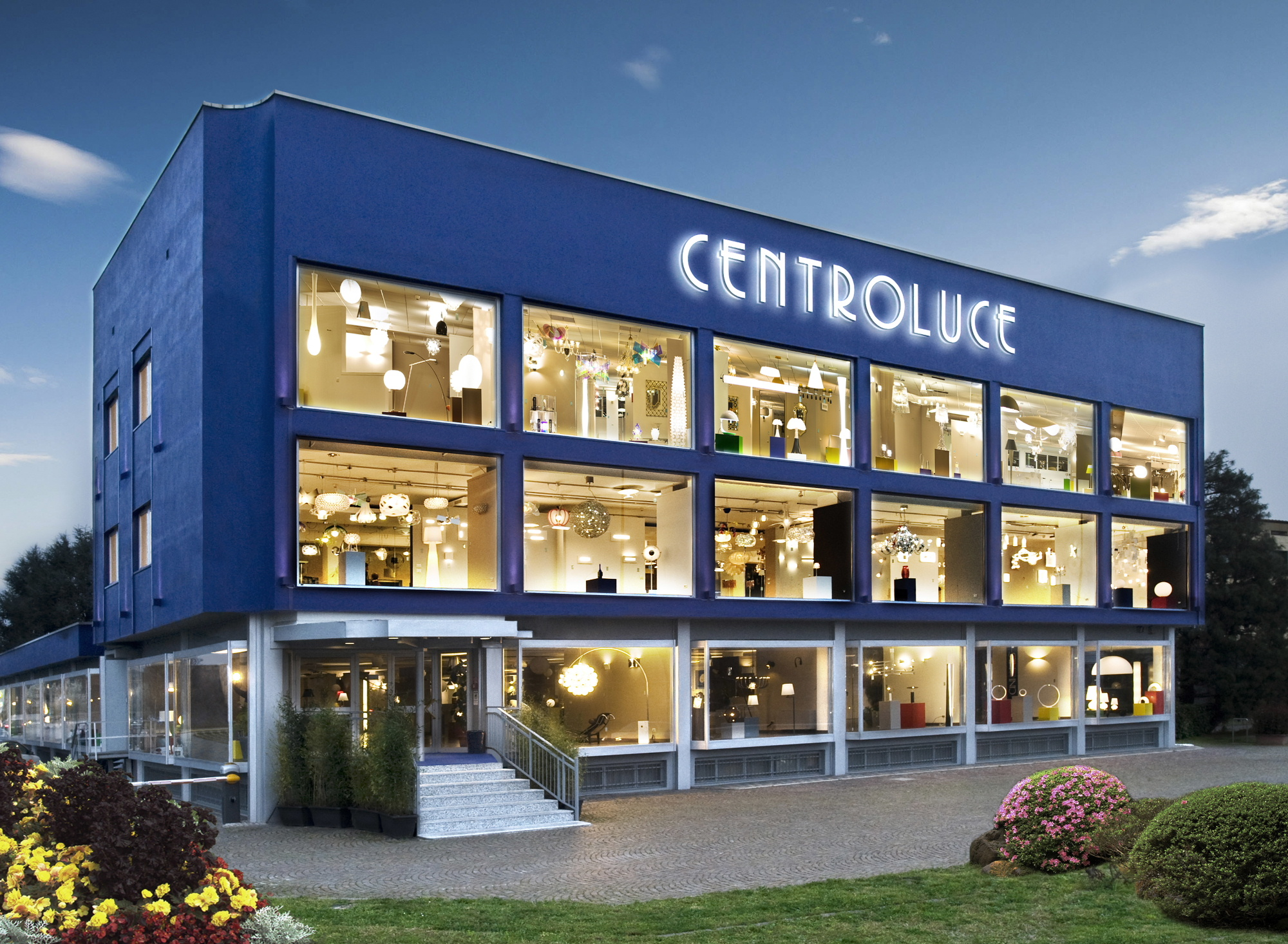 la nuova sede Centroluce
